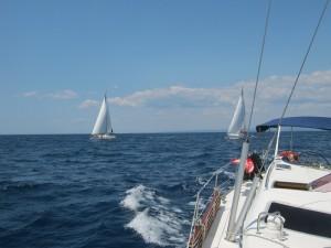 Солнце, ветер, паруса